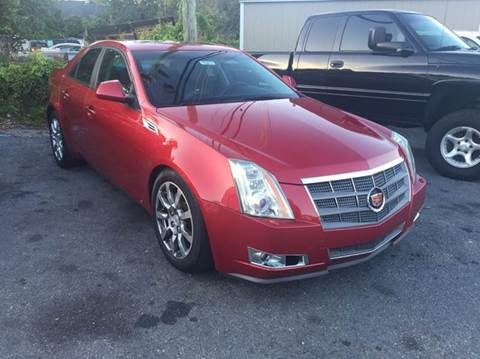 2009 Cadillac CTS for sale at GOLD COAST IMPORT OUTLET in St Simons GA
