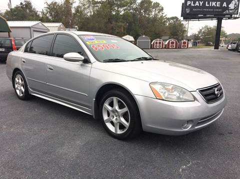 2003 Nissan Altima for sale at GOLD COAST IMPORT OUTLET in St Simons GA