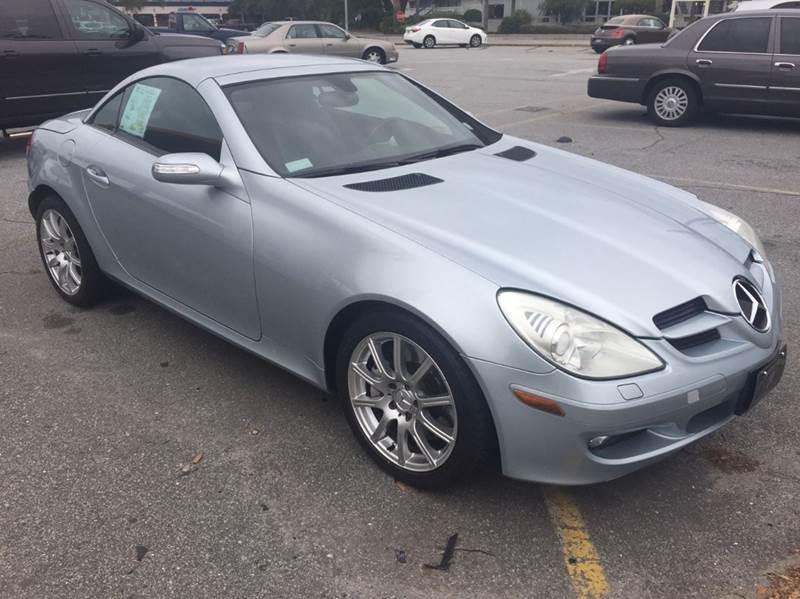 2005 Mercedes-Benz SLK for sale at GOLD COAST IMPORT OUTLET in St Simons GA