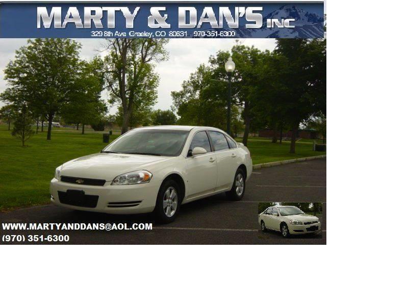 2008 Chevrolet Impala LT 4dr Sedan w/ roof rail curtain delete - Greeley CO