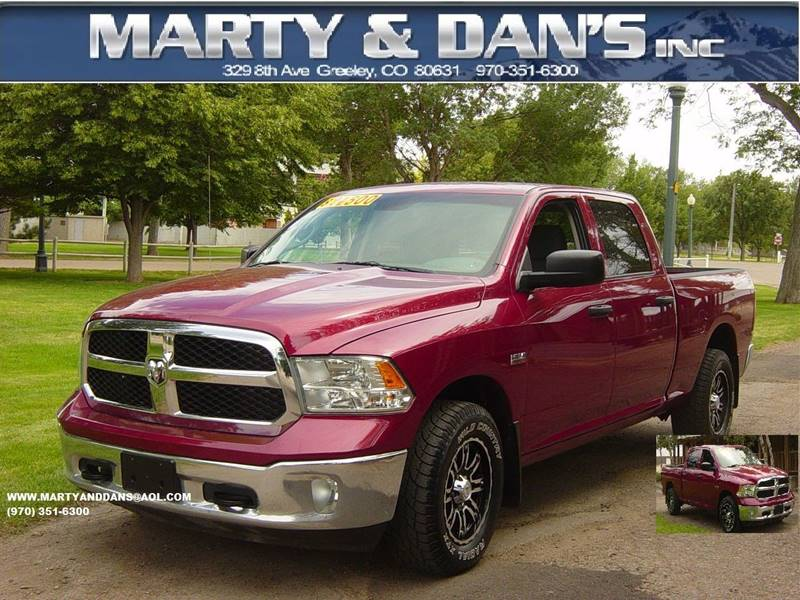 2014 RAM Ram Pickup 1500 4x4 Tradesman 4dr Crew Cab 6.3 ft. SB Pickup - Greeley CO