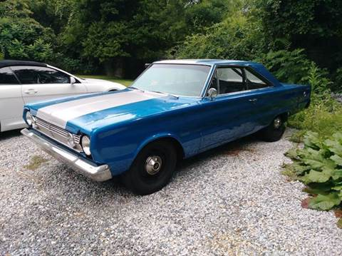 1966 Plymouth Satellite for sale at Randys Auto Sales in Gardner MA