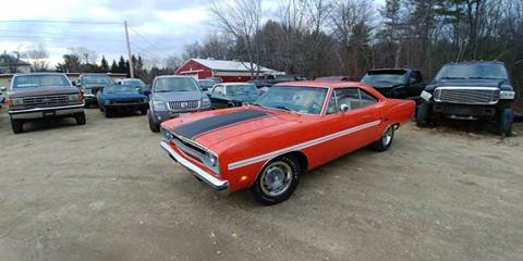 1970 Plymouth GTX for sale at Randys Auto Sales in Gardner MA