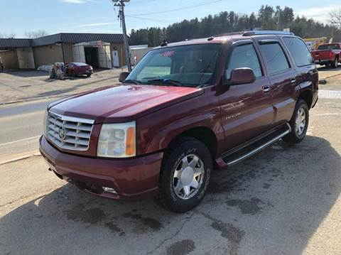 2004 Cadillac Escalade for sale at Randys Auto Sales in Gardner MA