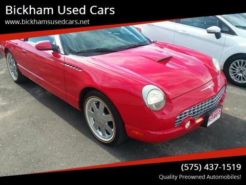 2002 Ford Thunderbird for sale in Alamogordo, NM