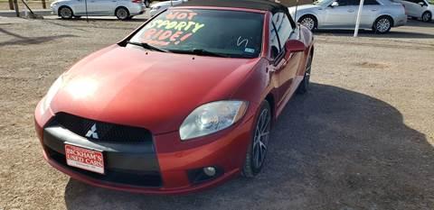 2011 Mitsubishi Eclipse Spyder for sale in Alamogordo, NM