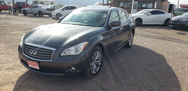 2013 Infiniti M37 for sale at Bickham Used Cars in Alamogordo NM