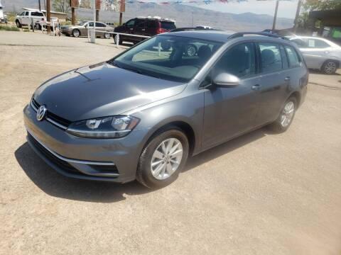 2018 Volkswagen Golf SportWagen for sale at Bickham Used Cars in Alamogordo NM