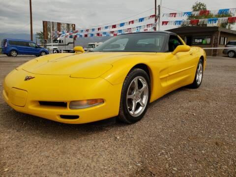 2001 Chevrolet Corvette for sale at Bickham Used Cars in Alamogordo NM