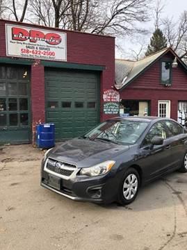 2012 Subaru Impreza for sale at DPG Enterprize in Catskill NY