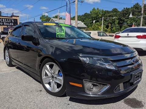 2012 Ford Fusion for sale in West Warwick, RI