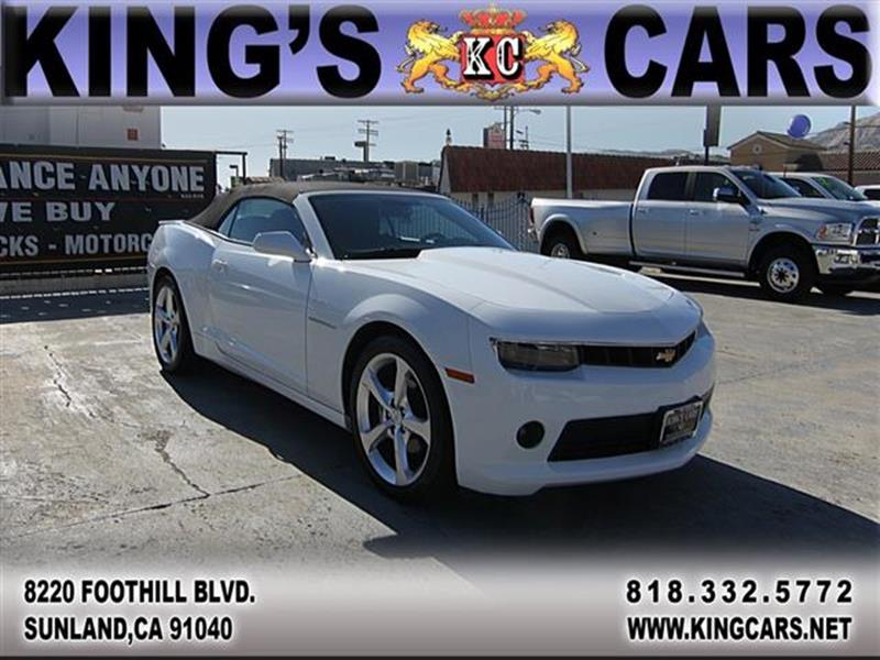 2015 Chevrolet Camaro for sale at KINGS CARS INC in Sunland CA