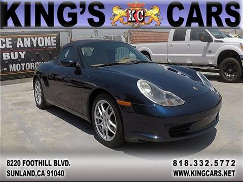 2004 Porsche Boxster for sale at KINGS CARS INC in Sunland CA