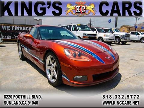 2005 Chevrolet Corvette for sale at KINGS CARS INC in Sunland CA