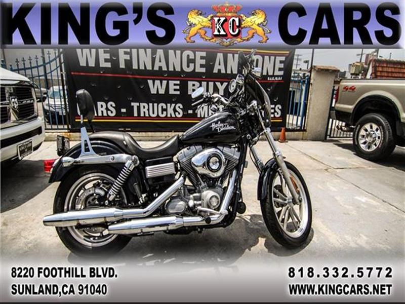 2009 Harley Davidson Dyna Super Glide for sale at KINGS CARS INC in Sunland CA