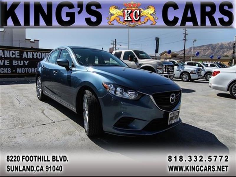 2014 Mazda MAZDA6 for sale at KINGS CARS INC in Sunland CA