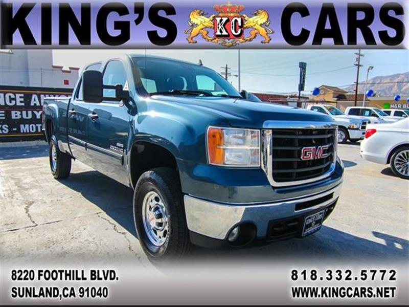 2008 GMC Sierra 2500HD for sale at KINGS CARS INC in Sunland CA