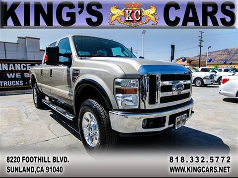 2008 Ford F-250 Super Duty for sale at KINGS CARS INC in Sunland CA