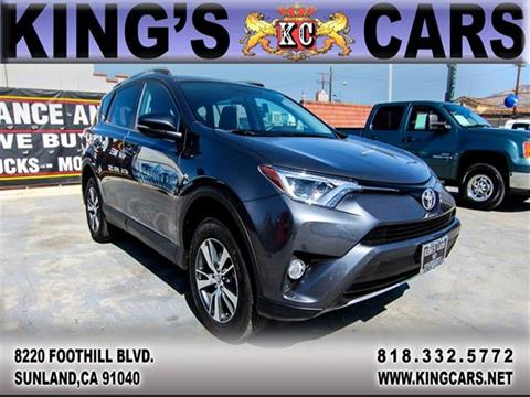 2016 Toyota RAV4 for sale at KINGS CARS INC in Sunland CA