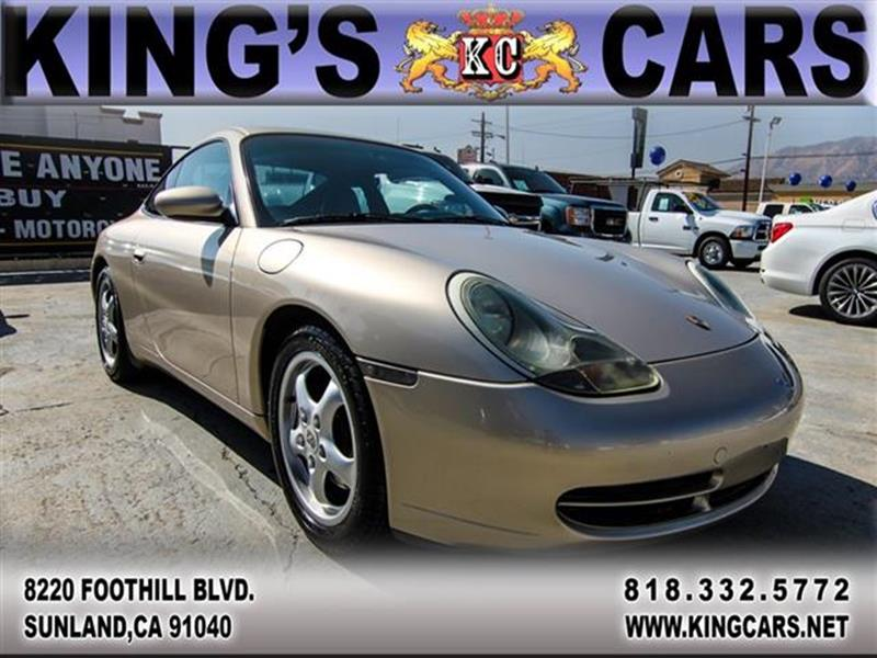 1999 Porsche 911 for sale at KINGS CARS INC in Sunland CA