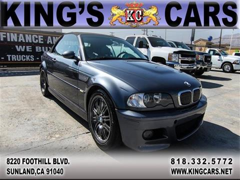 2002 BMW M3 for sale in Sunland, CA