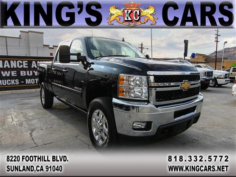 2012 Chevrolet Silverado 3500HD for sale at KINGS CARS INC in Sunland CA