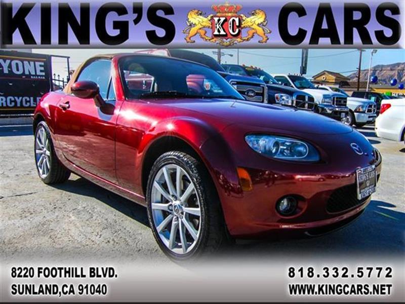 2006 Mazda MX-5 Miata for sale at KINGS CARS INC in Sunland CA