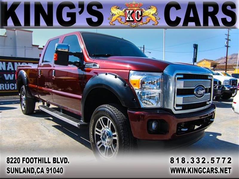 2015 Ford F-350 Super Duty for sale at KINGS CARS INC in Sunland CA