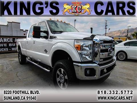 2014 Ford F-350 Super Duty for sale at KINGS CARS INC in Sunland CA