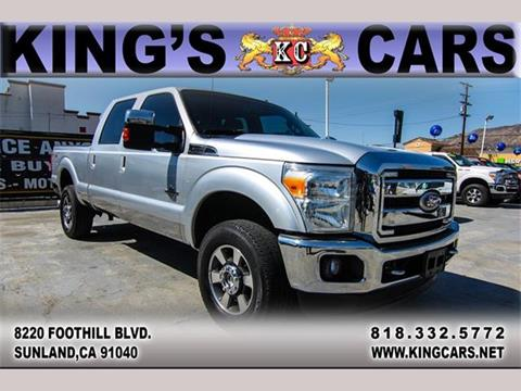 2011 Ford F-350 Super Duty for sale at KINGS CARS INC in Sunland CA
