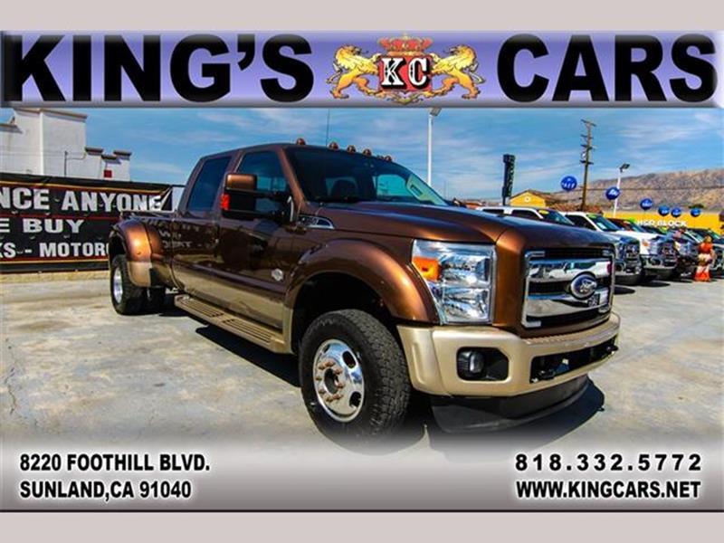 2011 Ford F-450 Super Duty for sale at KINGS CARS INC in Sunland CA