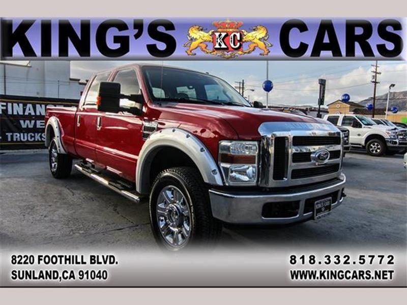2008 Ford F-350 Super Duty for sale at KINGS CARS INC in Sunland CA