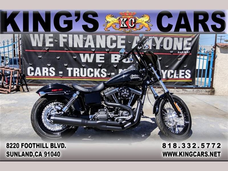 2017 Harley Davidson FXDB In Sunland CA - KINGS CARS INC