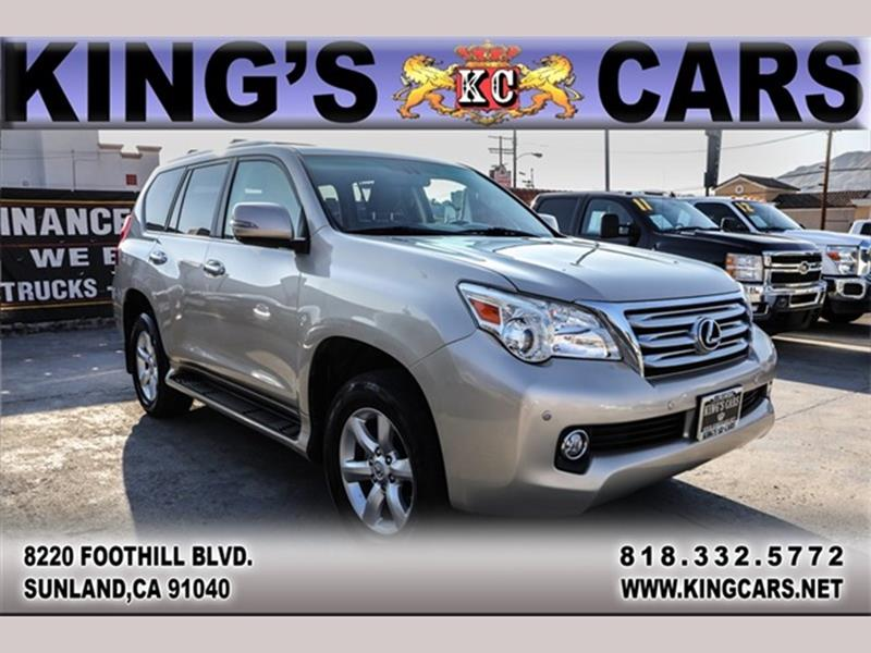 2010 Lexus GX 460 For Sale At KINGS CARS INC In Sunland CA