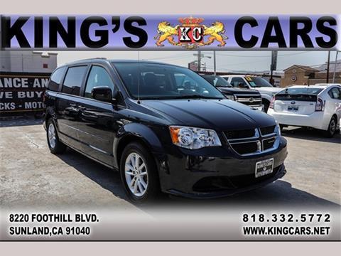 2014 Dodge Grand Caravan For Sale At KINGS CARS INC In Sunland CA