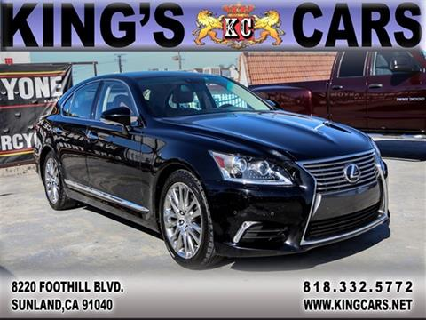 Ls 460 For Sale >> Lexus Ls 460 For Sale In Sunland Ca Kings Cars Inc