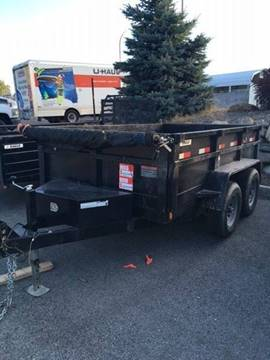 2017 Eagle 6' X 10' Double Axel Dump for sale in East Wenatchee, WA