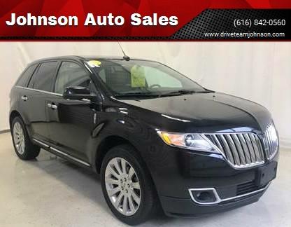 2011 Lincoln Mkx In Fruitport Mi Johnson Auto Sales