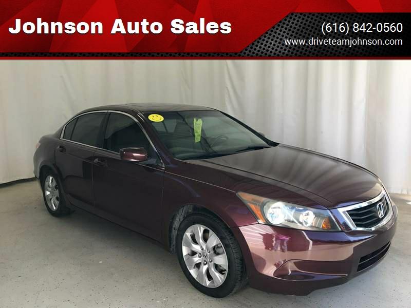 2009 Honda Accord For Sale At Johnson Auto Sales In Fruitport MI