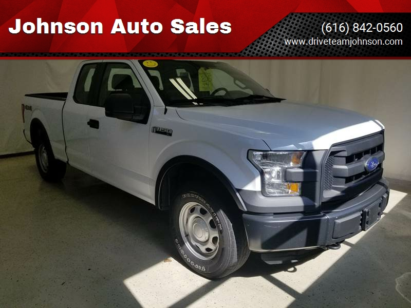 2015 Ford F 150 For Sale >> 2015 Ford F 150 Xl Johnson Auto Sales