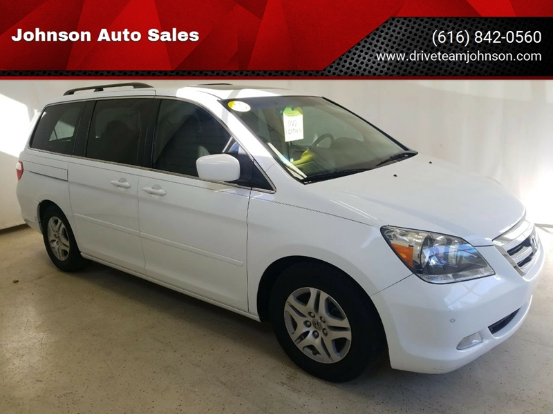 2007 Honda Odyssey For Sale At Johnson Auto Sales In Fruitport MI