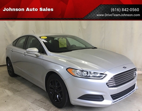 2016 Ford Fusion for sale in Fruitport, MI