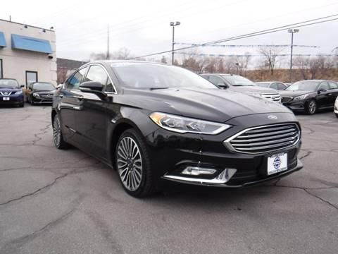 2018 Ford Fusion Titanium for sale at Platinum Auto Sales in Provo UT