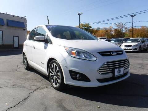 2017 Ford C-MAX Hybrid Titanium for sale at Platinum Auto Sales in Provo UT
