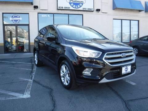 2017 Ford Escape SE for sale at Platinum Auto Sales in Provo UT
