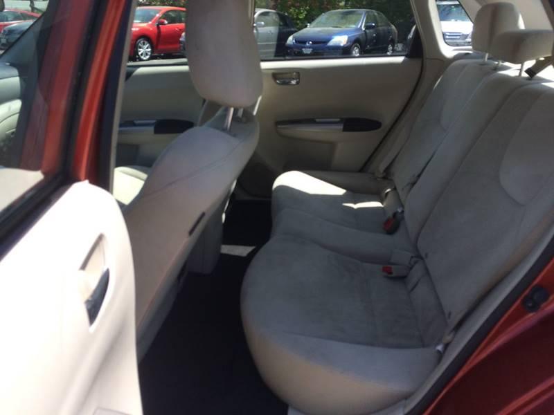 2009 Subaru Impreza AWD 2.5i Premium 4dr Sedan 4A - Hooksett NH