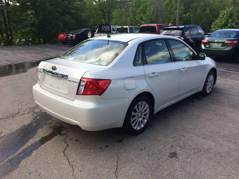 2008 Subaru Impreza AWD 2.5i 4dr Sedan 4A - Hooksett NH