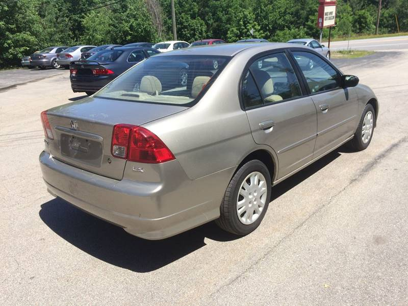 2005 Honda Civic LX 4dr Sedan - Hooksett NH