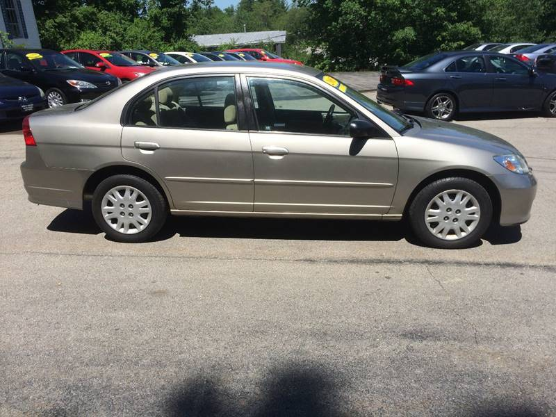 2005 Honda Civic LX 4dr Sedan - Hooksett NH