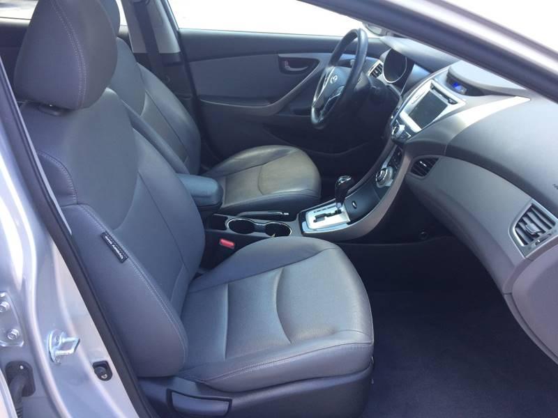 2012 Hyundai Elantra Limited 4dr Sedan - Hooksett NH